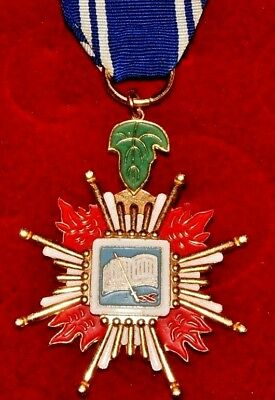 Taiwan (ROC) Order of Loyalty and Diligence No. 95879 Established 1945 (2549)