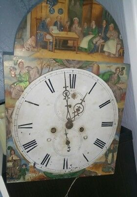 Grandfather clock movement SEE PHOTOS
