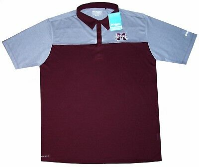 3e84d73885426c Mens Ncaa Apparel * Mississippi State Bulldogs Ncaa Team Golf / Polo Shirt,  XXL