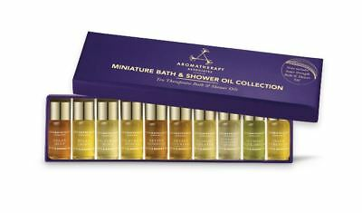 Aromatherapy Associates Miniature Bath & Shower Oil Collection 10 x 3ml NEW