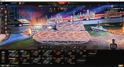 World of Tanks Wot Account Maus, 3 andere STUFE 10 auf dem Weg
