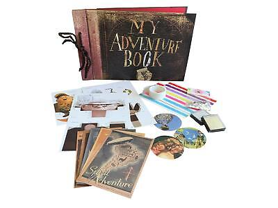 My Adventure Book - Up Movie DIY Scrapbook With Ink Pads, Rhinestones,