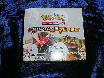 Display pokemon XY Rupture turbo VF  scellé