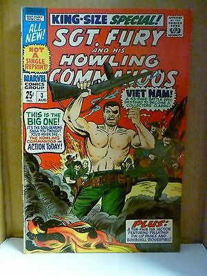 Sgt. Fury & His Howling Commandos Special #3, 9/1967. Agents of Shield. F