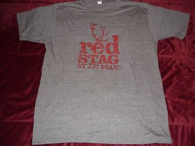 Jim Beam Red Stag T Shirt L Large NEW