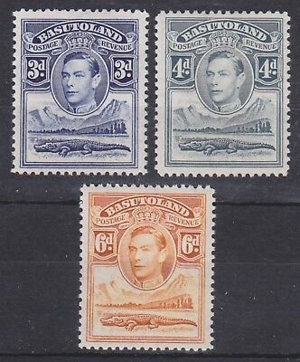 Basutoland,1938, selection, SG22-24, Sc 22-24, mint hinged.