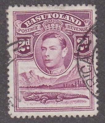 Basutoland,1938, 2d purple, SG21, Sc 21, used.