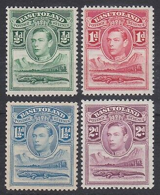 Basutoland,1938, selection, SG18-21, Sc 18-21, mint hinged.