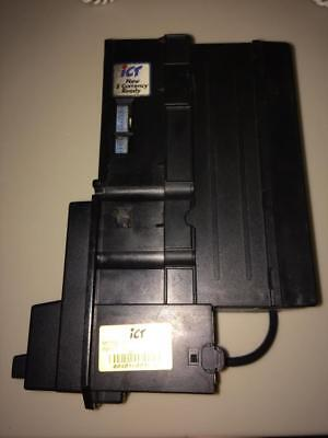 Ict A6 Bill Acceptor Accepts $1-$20 New$ Too! 12 Volts Works Great! #3