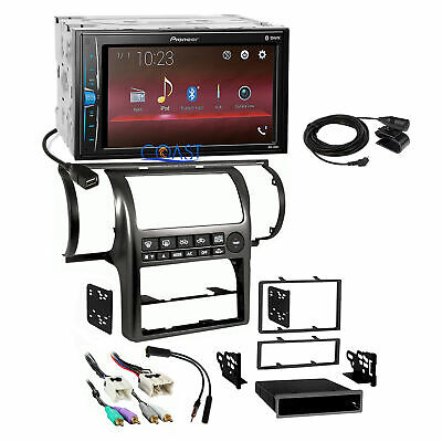 Pioneer 2018 Multimedia Stereo Black Dash Kit Harness for 2003-04 Infiniti G35