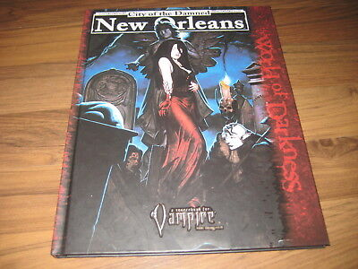 Vampire The Requiem City of the Damned New Orleans White Wolf 2005  WW25200 TOP
