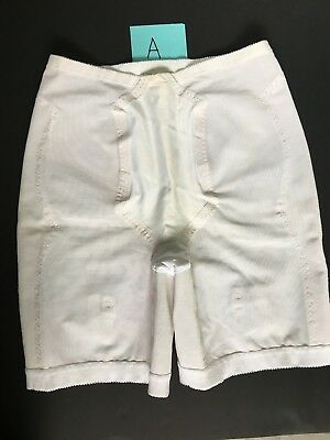 A Vintage Sears Girdle Vg Condition/attached Garter Snaps X Large