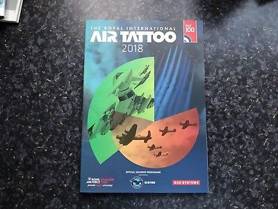Royal International Air Tattoo Brochure 2018