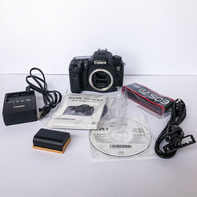 Canon EOS 7D Mark II Digital SLR Camera Body 20 M/P - Only 6,178 Shutter Count