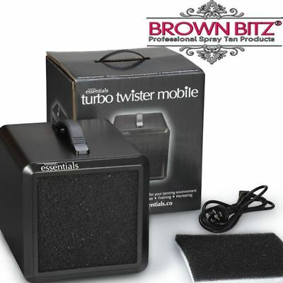 Twister mini mobile extractor filtration spray tan system by tanning essentials