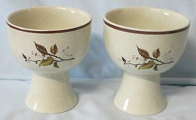 Royal Doulton Lambethware Wild Cherry LS1038 China Goblet set of 2