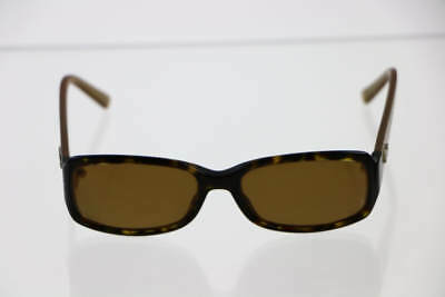 Christian Dior Gold Tortoise Frame Brown Lens Prescription Sunglasses