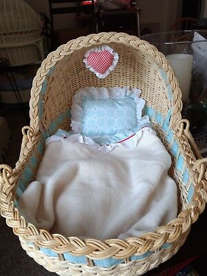 Pleasant Co. Bitty Baby Moses Basket