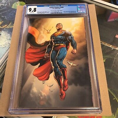 Action Comics #1000 Jason Fabok Virgin variant CGC 9.8.