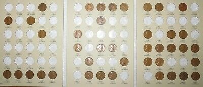 1909 VDB-1940 PDS Lincoln Wheat Penny Cent Collection, 42 coins in Album