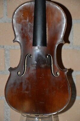 Old 1900s violin, needs restoration