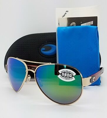 83bef3388b8 NEW Costa Del Mar sunglasses South Point Rose Gold Green 580G SO 84 OGMGLP  Glass