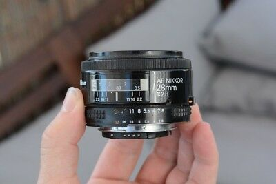 Nikkor 28mm f2.8 Nikon AF Full Format, good condition