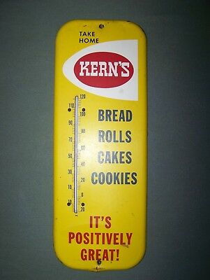 vintage thermometer Kern's bread, rolls,cakes,cookies , early model