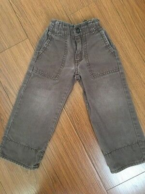 janie and jack Toddler Boy Brown Pants 2T