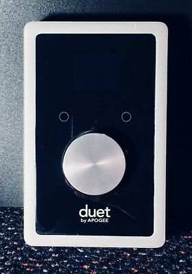 Apogee Duet 2 USB digital audio interface recorder for Mac
