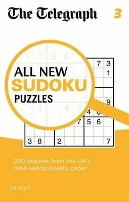 New, The Telegraph All New Sudoku Puzzles 3 (The Telegraph Puzzle Books), THE TE