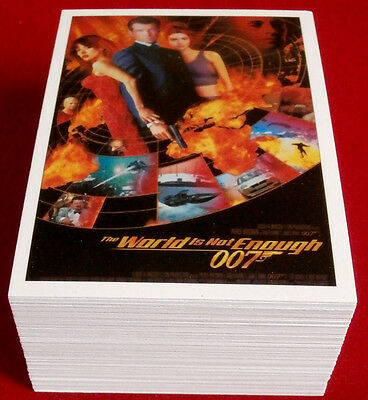 JAMES BOND CLASSICS 2016 - The World Is Not Enough - COMPLETE, 72 Card Base Set