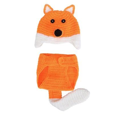 Baby Photo Props Baby Girls Boys Knit Baby Outfits Costume Hat and Pants for  G1