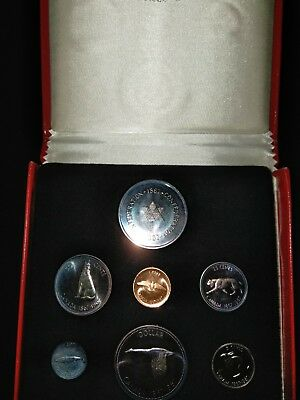 1967 Royal Canadian Uncirculated Coin Mint Set