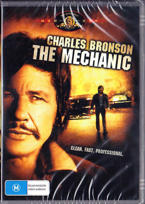 The Mechanic DVD Charles Bronson Brand New and Sealed Australia All Regions