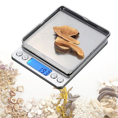 3000g x 0.1g Digital Pocket Gram Scale Electronic Jewelry Weight Scale