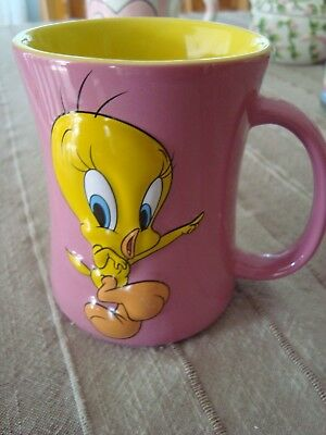 TWEEDY BIRD 3-D Raised Mug Looney Tunes for the Collector 2007