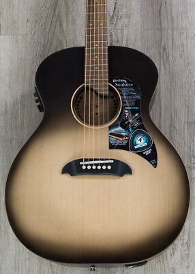 Riversong Soulstice Series Delux Acoustic-Electric Guitar, Walnut -Harvest Burst