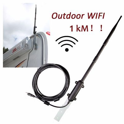 Outdoor Wireless USB Adapter 150Mbps High Power WiFi Antenna Signal Receiver YP