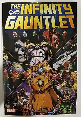 The Infinity Gauntlet TPB Collects #1-6 Avengers, Thanos Starlin & Perez, Marvel
