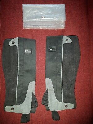 ADULT COMFIES SIZE XL RIDING WEAR HALF CHAPS Gaiters LENGTH 16''INCHES FREE P&P