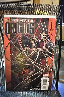 Ultimate Origins #1 Michael Turner Wolverine Variant Marvel Comics Bendis Guice