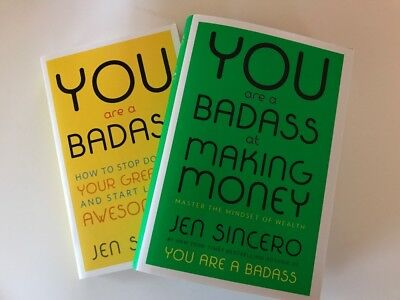 2x  Digital Download Audiobooks - You Are A Badass & Making Money Jen Sincero