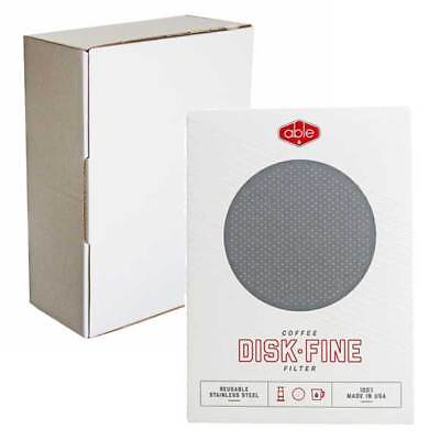 BOXED: Able Fine Reusable Stainless Steel Filter For Aeropress Coffee Maker