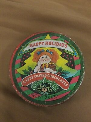 Cavbage Patch Kids tin with candy still inside! Vintage collectible nostalgia 84