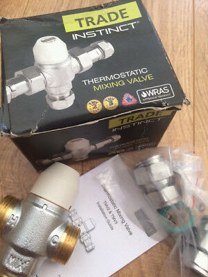 Trade Instinct Thermostatic Mixing Valve Tmv2/3 15Mm (40015Cba)