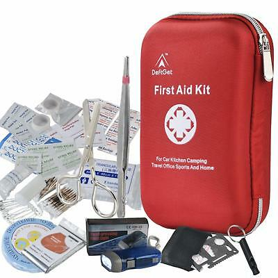 First Aid Kit Travel Home Car Holiday Sport Bike Work Office Portable Essential