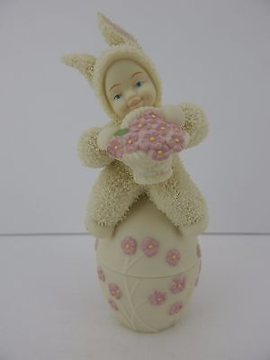 Dept 56 Snowbunnies May Day Delivery Trinket Box #26382 Retired