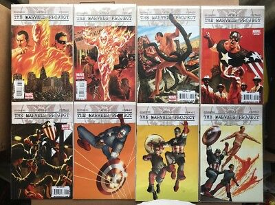 THE MARVELS PROJECT #1-8 (2009) *Mint* Bagged & Boarded. Ed Brubaker