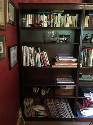 Tall Rosewood Bookcase made by Lexterten - one of a pair for sale